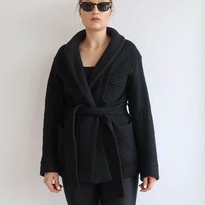 ARITZIA Wool Robe Coat